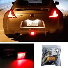 nissan sentra yellow key light amazon com ijdmtoy 27 smd brilliant red led conversion kit for