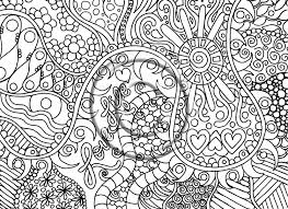 psychedelic drawing to coloring pages coloring page