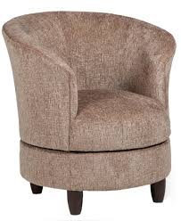 chairs accent swivel barrel chair by best home furnishings