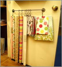 how to store wrapping paper hanging gift wrap storage how to store wrapping paper door hanging