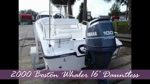 boston whaler 16 u0027 dauntless youtube