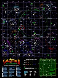 Space Junk Map Exonauts Saturday Star Control Map Of The Galaxy