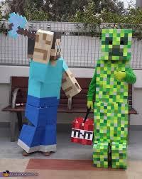 minecraft costume minecraft steve creeper costumes photo 2 5