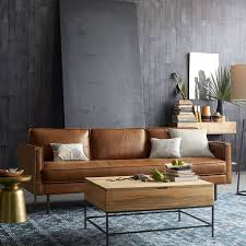 Sleek Modern Furniture by Best 25 Modern Leather Sofa Ideas On Pinterest Tan Couch Decor