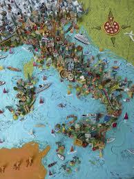Itsly Map Italy Map U2014 Sara Drake