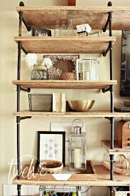 Industrial Bookcase Diy Diy Industrial Pipe Shelves Twelve On Main