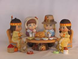 thanksgiving pilgrams thanksgiving ceramic figurines thanksgiving pilgrims u0026 indians