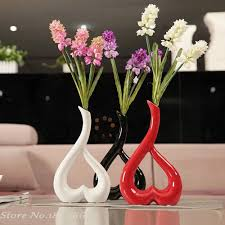 Vases Decor For Home Compare Prices On Heart Flower Vase Online Shopping Buy Low Price