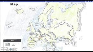 Physical Features Of Europe Map by How To Remember Major European Physical Features By Kids Youtube