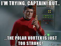 Scotty Meme - polar vortex winter scotty star trek winter jack frost time