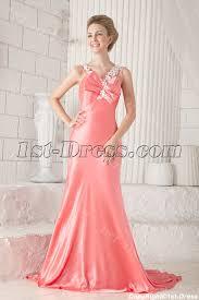 sheath coral evening dresses for women 1st dress com