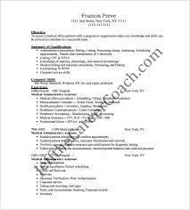 Medical Administrative Assistant Skills Resume Medical Office Assistant Skills What Does A Medical Assistant Do