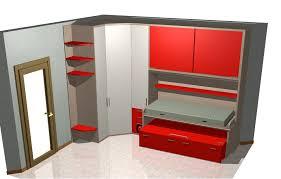 armadio angolare per cameretta progetti di camerette architetto on line