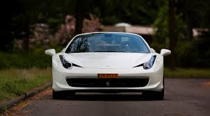 white 458 spider white 458 spider transportation in photography on the
