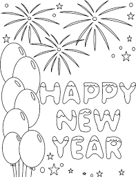 top celebrations happy new year coloring pages womanmate com