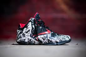 this just in nike lebron xi graffiti shiekh shoes
