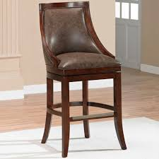 Leather Swivel Bar Stool Great Counter Height Leather Bar Stools Bar Stool Height Chairs