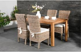 wicker dining room table interesting interior design ideas