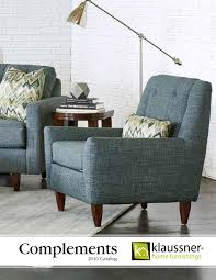 Klaussner Distinctions Complements 2016 Catalog By Klaussner Home Furnishings Issuu