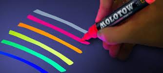 uv marker and light molotow grafx softliner pen uv fluorescent betesbyggarkiosken