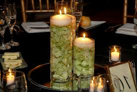 Floating Candle Centerpieces by Candle Flower Centerpieces Wedding Wedding Party Decoration