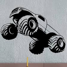 monster truck uber decals wall decal vinyl decor uberdecals