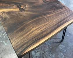 slab coffee table etsy