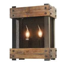 Wooden Wall Sconce Sconces