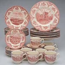 johnson brothers britain castles pink 1883 st at