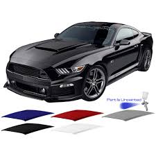 ford mustang scoops roush mustang scoop ecoboost v6 gt 2015 2017