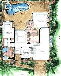 mediterranean house floor plans two story mediterranean house plan 66010we architectural