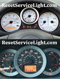 rav4 maintenance required light reset oil service light toyota rav4 reset service light reset oil