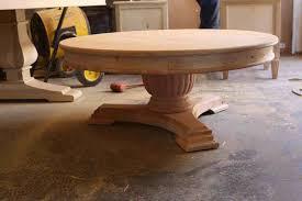 Pedestal Coffee Table Pedestal Coffee Table Silo Tree Farm