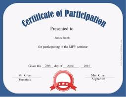 sample text for certificate of appreciation free certificate of participation customize online u0026 print