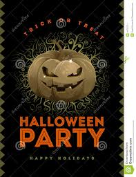 halloween party poster stock vector image 44757571