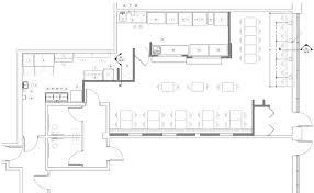 Sample Floor Plan Of A Restaurant Development News