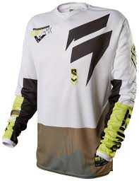 shift motocross helmets shift strike army jersey revzilla