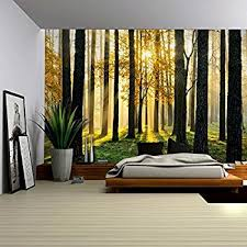 amazon com wall26 crowded forest mural wall mural removable