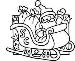 santa claus coloring page funny santa claus coloring page free