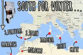 europe in a cervan where to go for winter vandog traveller