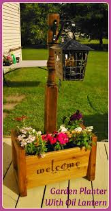 plant beautiful outdoor wooden planters house ideas pinterest