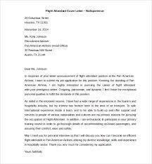 Sample Resume Of Flight Attendant by Marvellous Inspiration Flight Attendant Cover Letter 12 Sample