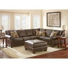 Curved Sectional Sofa Leather Leather Sofas Sectionals Costco With Regard To Sectional Sofa Idea