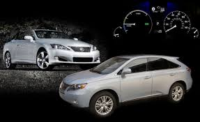 lexus 2010 2010 lexus rx450h and is convertible pricing announced car news