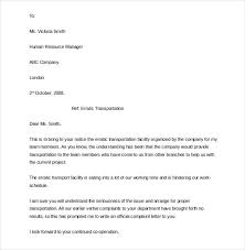 15 employee complaint letter templates u2013 free sample example