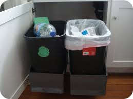 Kitchen Recycling Bins For Cabinets Garbage Can Cabinet This Is The Smartest Trash Can Cabinet