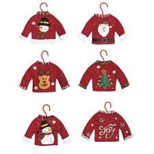 sweater ornaments unique decorations