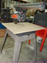 Craftsman Radial Arm Saw Table Craftsman 113 23100 Radial Arm Saw Item Ap9778 Sold Jan