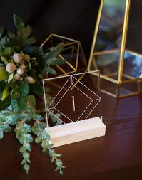 acrylic table numbers wedding acrylic table numbers for wedding tables party or event clear