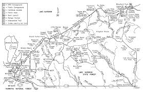 Michigan Trail Maps by Up Michigan Pictured Rock National Lakeshore Kayaked Along The